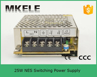 NES-25-15 ac dc switching mode power supply ac to dc 25w transformer 220vac to 15vdc
