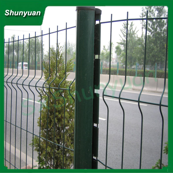 High Quality Backyard used PVC fence wire mesh