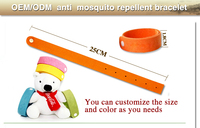 Direct factory agent welcome high quality anti-mosquito repellent bracelet