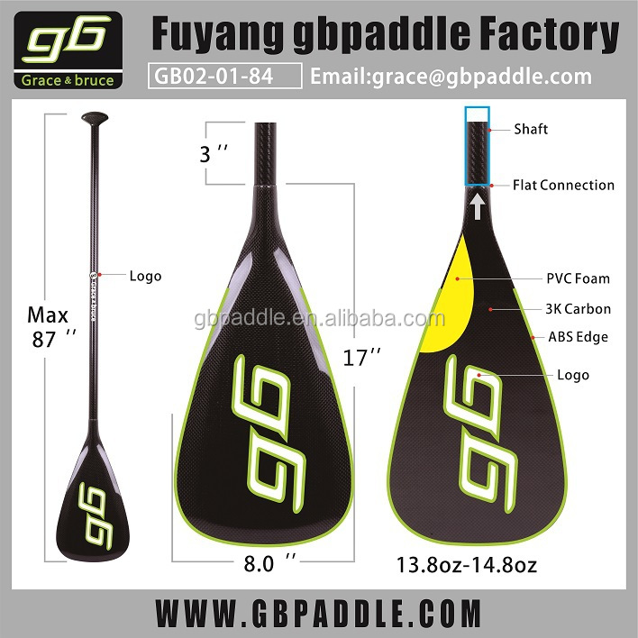 new inflatable adjustable carbon surf stand up paddle