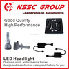 Halogen bulb replacement led headlight car Factory direct super bright led headlight bulb h4