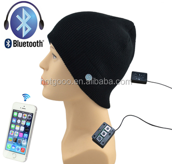 BT-021 high quality custom bluetooth wireless kitted hat on sale
