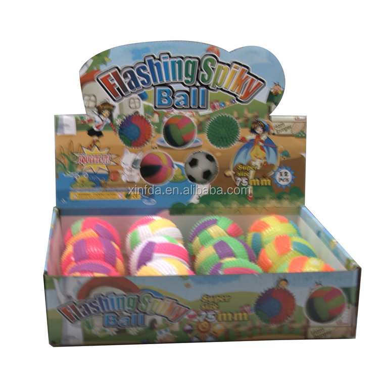 TPR Soft Led Mini Multicolor Flashing Bouncing Ball