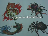 Hot sale cheap airbrush tattoo kits with high quality