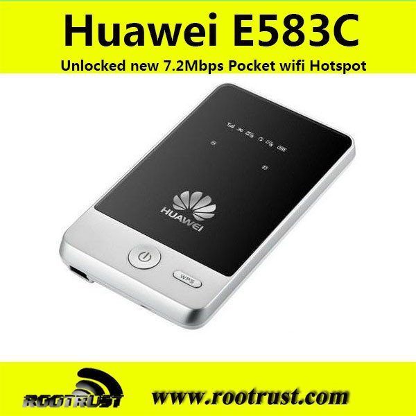 3g wireless wifi router hotspot huawei e583c