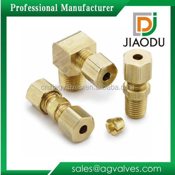 Alibaba china latest Brass Air Brake Tube Fittings for Copper Tubing