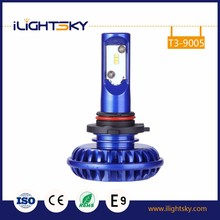 New design small led headlight 6000lm 50w high low beam 12v 9005 auto led lamp H1 H7 H8 H11 H13