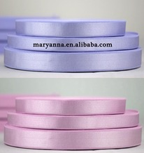 15mm pink purple black strong brushed universal satin bra strap elastic