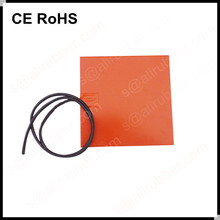 Silicone Rubber Heater Sticker Heating ElementsWith Adhesive Stick