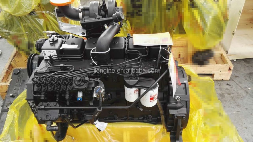 6B 6BT 5.9L Engine Assembly , Diesel Engine Assembly Truck Excavator , 4B 6B 6C 6L ISB ISD ISL ISC