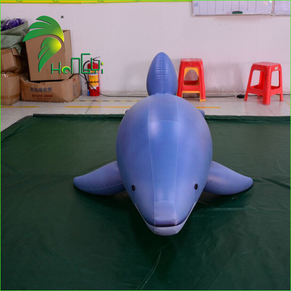 Newly Inflatable Animal Model, PVC Inflatable Dolphin Toys For Advertising