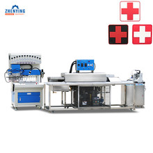 Full Automatic Soft Pvc Rubber Patch Making Machine