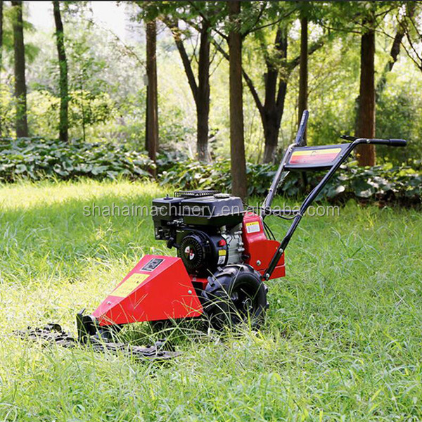 exported well 4 stroke single sickle gasoline lawn mower/Grass Mowing Machine