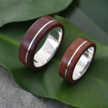 High quality jewelry real wood rings