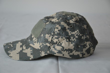 High Quality Outdoor Tactical Caps With Velcro Sports Men Baseball Cap Camouflage Visor Sun Hat ACU