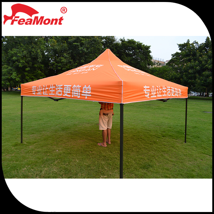 3x4.5m White Steel Frame Outdoor Canopies With 420D Oxford