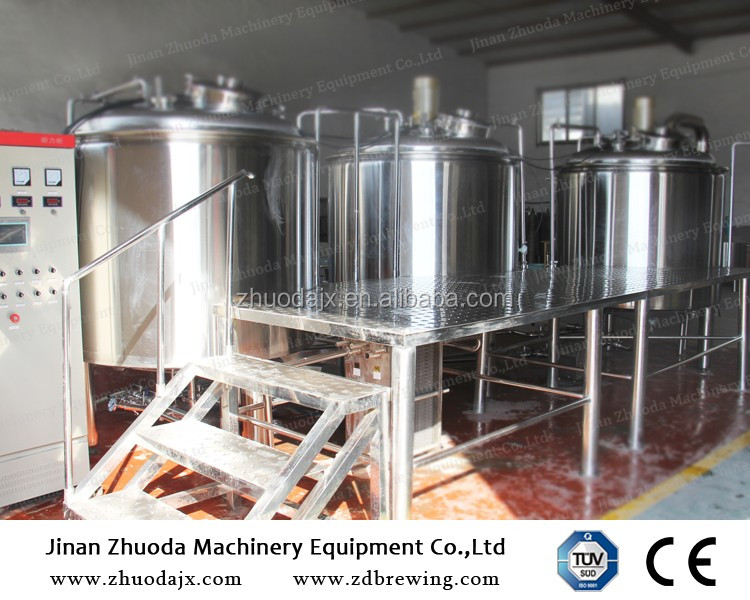 Commercial Brewing System 7 Bbl Turnkey Beer Brewery