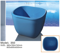 mini bath tub/ kids bath/ small size bathtub