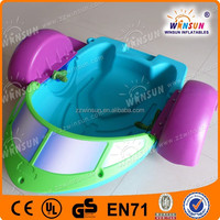 2015 happy factory price island inflatable bumper boat for adult