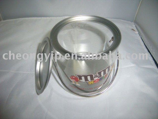 Tissue case toliet paper container tin case with hole
