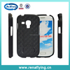 Guangdong black PC kickstand panda case for samsung galaxy s3 mini with low price