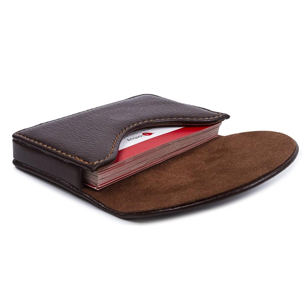 2017 New Design Leather Business Name Card Holder Case Wallet Credit ...