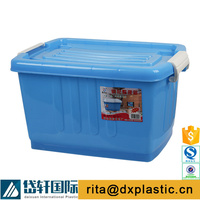 colorful plastic water proof storage box