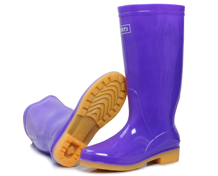 Two color PVC rain boots machine