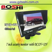 camera auto dvr 7 inch rear monitor movement car dvd player