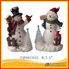 resin snowman figurine, resin snowman crafts, christmas day