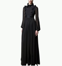 2018 New Abaya Design Woman Long Muslim Evening Dress Party Dress