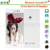 2015 5 inch mobile phone Huawei P7 Kirin 910T Quad cores 5 inch 16GB android 4.4