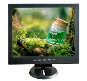 High Quality 12inch Tft Lcd Car Tv Monitor with VGA and BNC Input