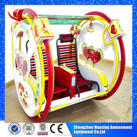 Factory price portable indoor small carnival happy amusement park car kids rides