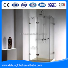 Smart bathroom Single panel tempered glass shower door Bathroom glass