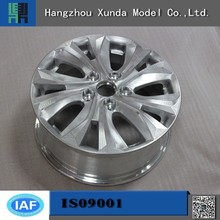 ISO9001 qualification certificate and SGS approved cnc machining stainless steel car wheel rapid prototype