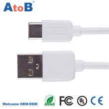 Reversible 1m 2m USB Type C to C Cable Fast Charging for Macbook 12inch New Nexus 6P 5X Oneplus2 and More USB-C Devices