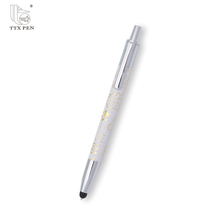 Cheap high quality metal touch pen screen touch stylus pen metal ball point pen for sale