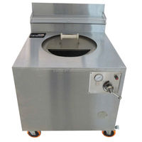 Stainless Steel Gas Burners Four Tandoor