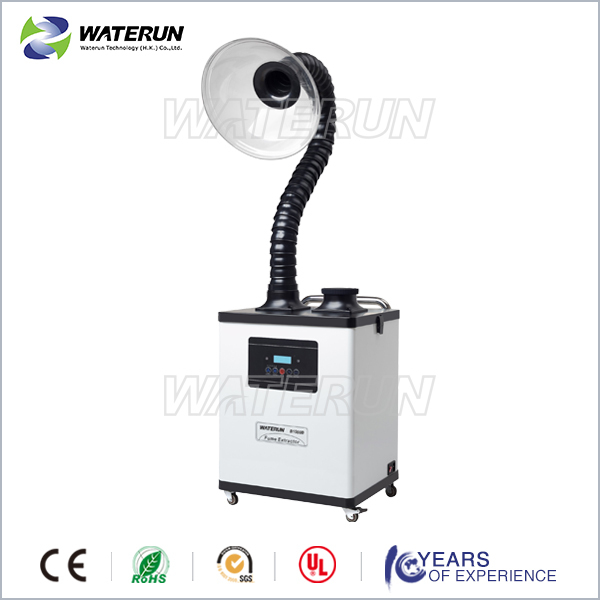 Beauty and moxibustion fume extractor,long life brushless motor ,acrylic cover fume extractor