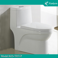Sanitary wares one piece water closet ceramic high quality wc toilet