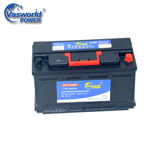 Maintenance Free DIN100 12v 100ah Car Battery For Saudi Arabia