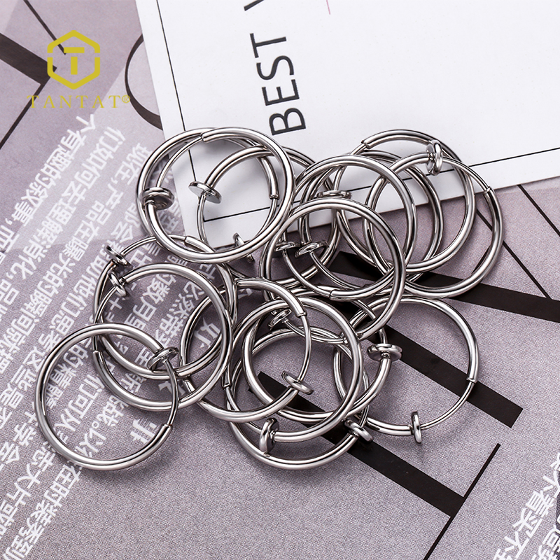 Imitation Rhodium Plated Hoop Loop Earring Leverback Earring Wire Notched Hoop For Jewelry Making