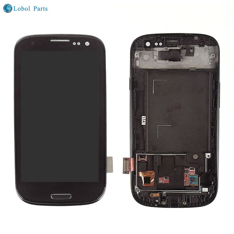 Lcd display touch screen digitizer assembly for samsung galaxy S3 i9300 for samsung mobile phone