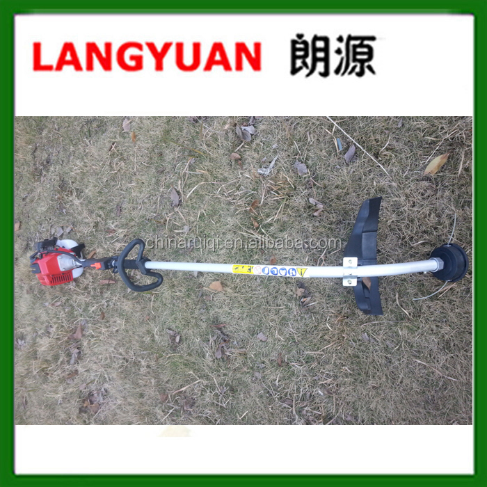 2 stroke hand grass cutter 52cc brush cutter for home use