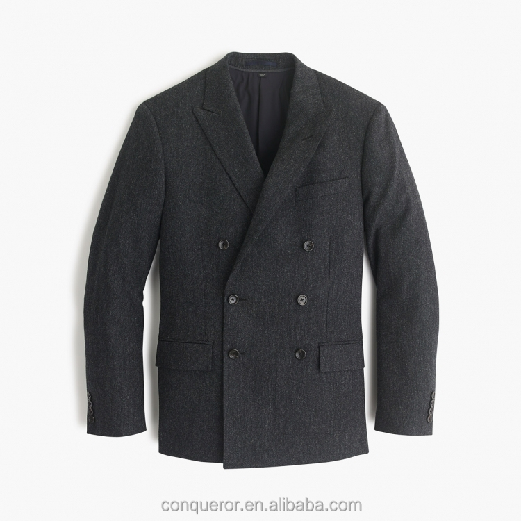 Made To Measure Fashion Stylish Double Breasted Men Coat Blazer