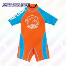 Short Sleeve Neoprene Surfing Suit for Children