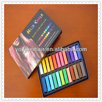 beautiful packing and high quality colorful hair chalk