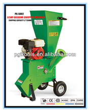 6.5HP 76MM Gasoline Industrial Disc Screw Wood Chipper Shredder Chipper For Sale
