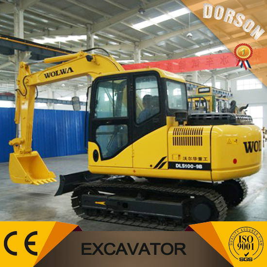 Construction Machinery and Equipment 10 ton Crawler Excavator